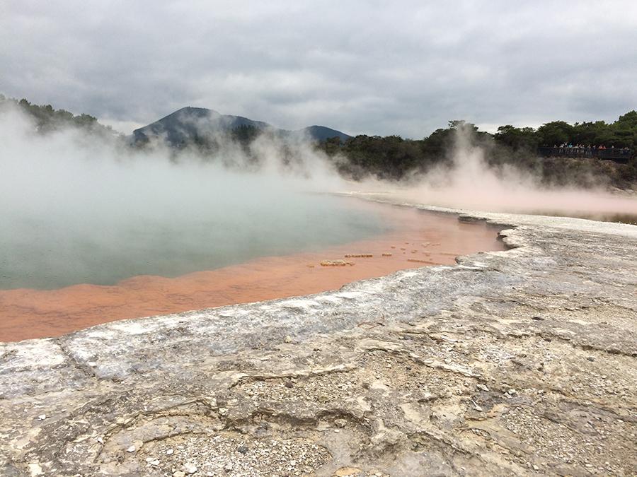 Wai-O-Tapu - obszar aktywności geotermicznej