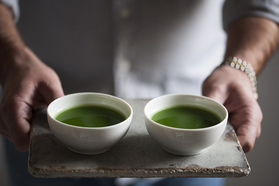 matcha, zielona herbata