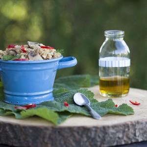 Pomysł na quinoa – sałatka z nutą dzikości