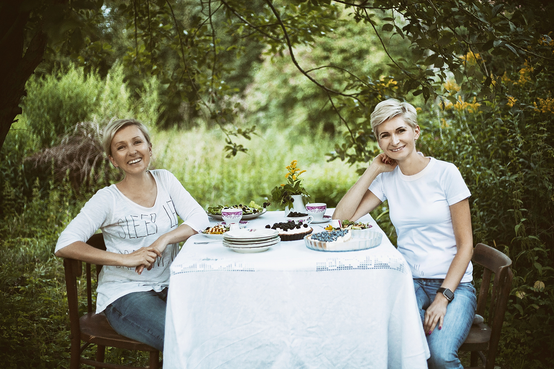 kulinarna strona mocy, dziewczyny pod drzewem
