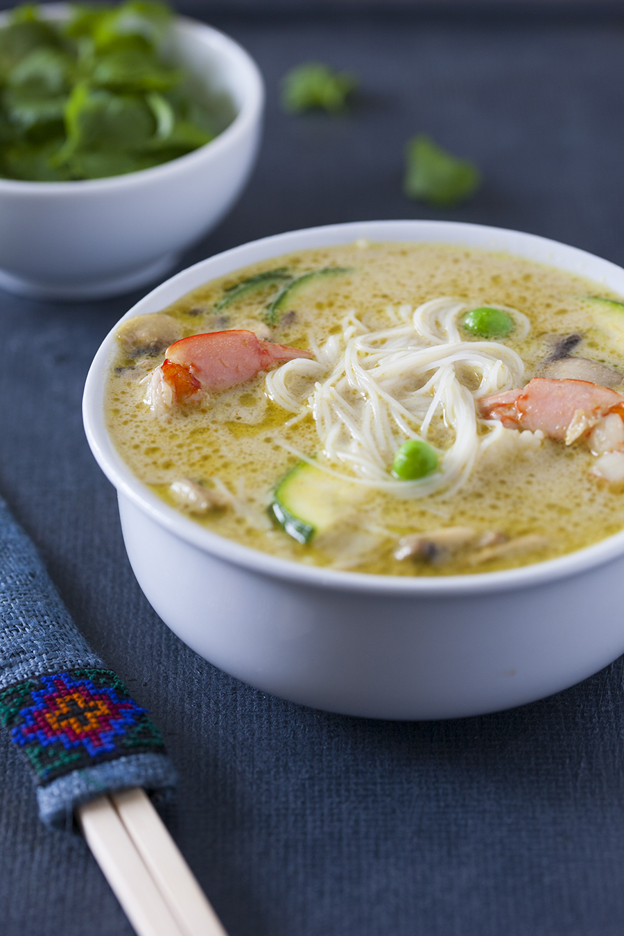 Zupa Tajska Z Zielonego Curry Czyli Kubki Smakowe Ida Do Nieba