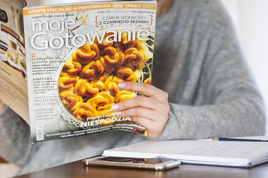 brioszki, brioszki zkremem waniliowym, MojeGotowanie, gazety kulinarne