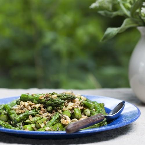 stir-fry ze szparagów