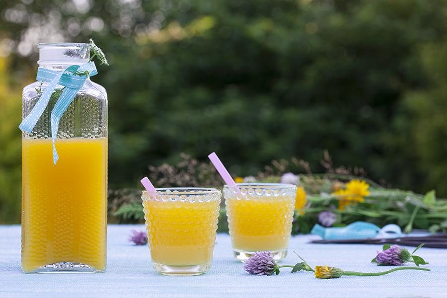 Lemoniada cytrusowo-imbirowa
