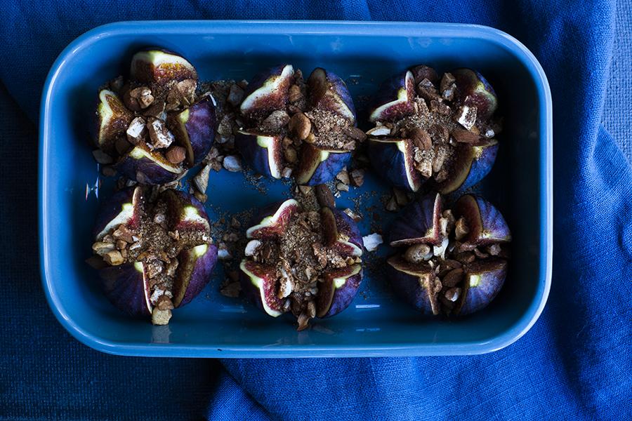 deser odstresowujący, deser figowy, figi