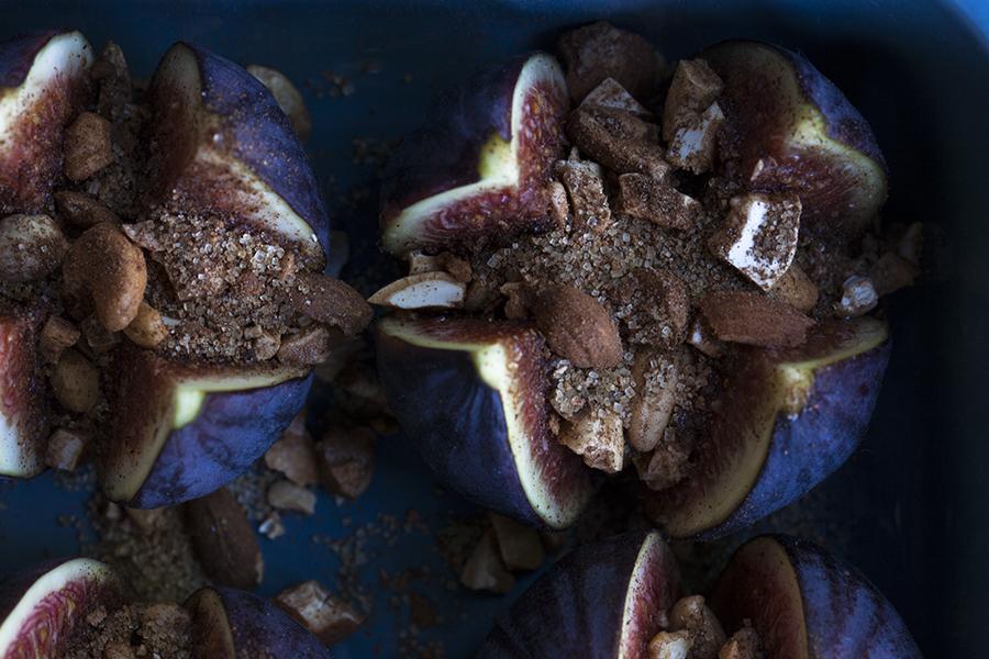 deser figowy, deser odstresowujący, figi